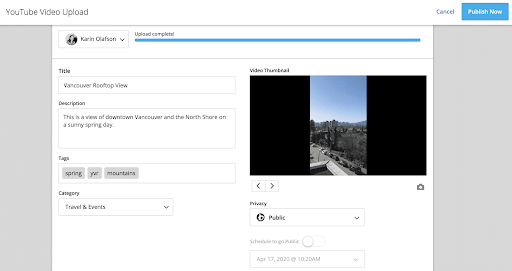 SEO optimization Youtube